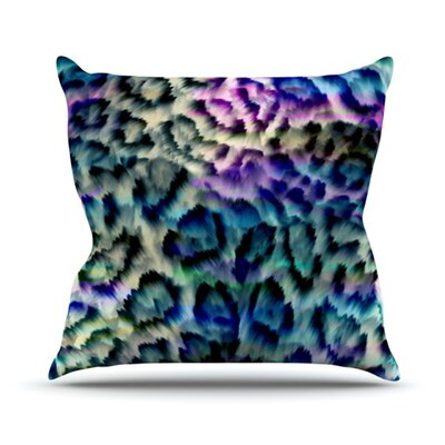 Wild Throw Pillow Size: 18