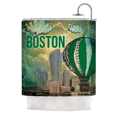 Boston Shower Curtain