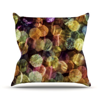 Warm Sparkle Throw Pillow Size: 16 H x 16 W