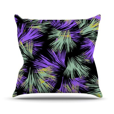 Tropical Fun Throw Pillow Size: 16 H x 16 W
