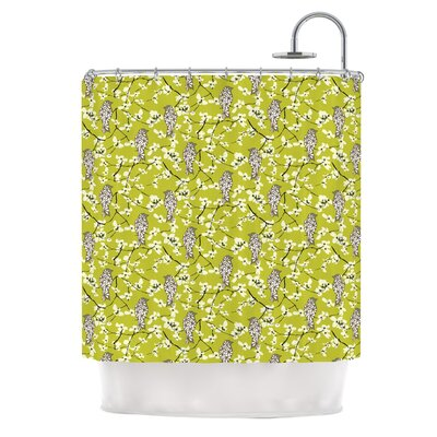 Blossom Bird Shower Curtain