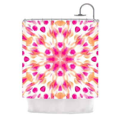 Batik Mandala Shower Curtain