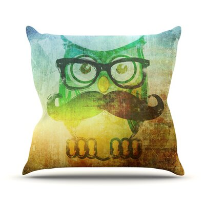 Howly Throw Pillow Size: 18 H x 18 W