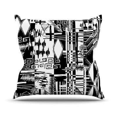 Tropical Buzz Throw Pillow Size: 26 H x 26 W