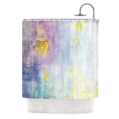 Color Grunge Shower Curtain