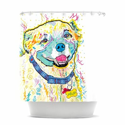 Milo Shower Curtain