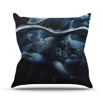 Invictus Throw Pillow Size: 18 H x 18 W x 4.1 D