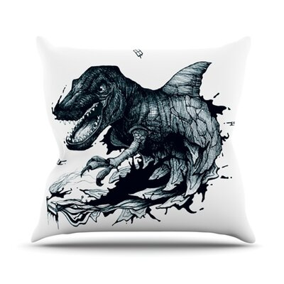 The Blanket Throw Pillow Size: 16 H x 16 W x 3.7 D