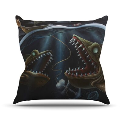 Sink or Swim Throw Pillow Size: 18 H x 18 W x 4.1 D