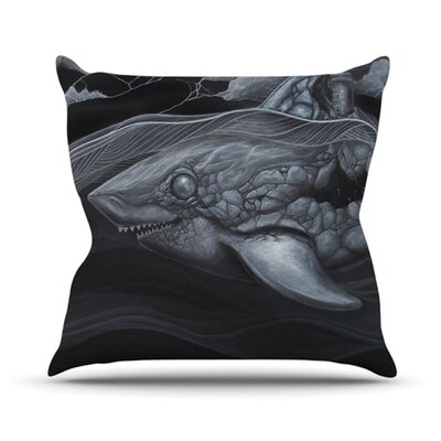 Troubled Joe Throw Pillow Size: 16 H x 16 W x 3.7 D