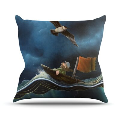 Savages Throw Pillow Size: 18 H x 18 W x 4.1 D