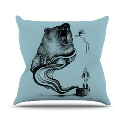 Hot Tub Hunter II Throw Pillow Size: 26 H x 26 W x 5 D