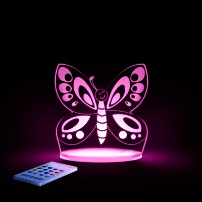 Aloka Starlights LED Butterfly Night Light with Remote Control