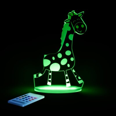 Aloka Starlights LED Giraffe Night Light with Remote Control