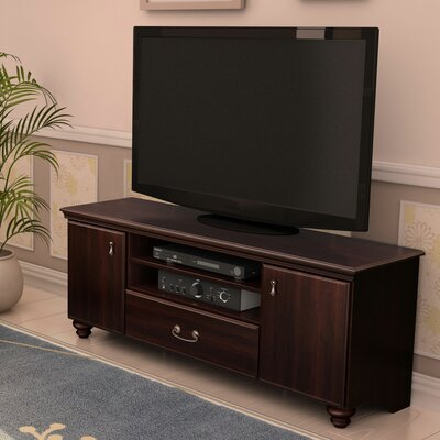 Noble TV Stand Finish: Dark Mahogany