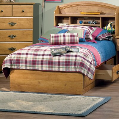 Prairie Twin Mates Bed with Storage