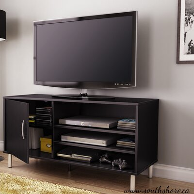 Renta 46.3 TV Stand Color: Pure Black