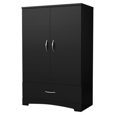 Step One Armoire Finish: Pure Black