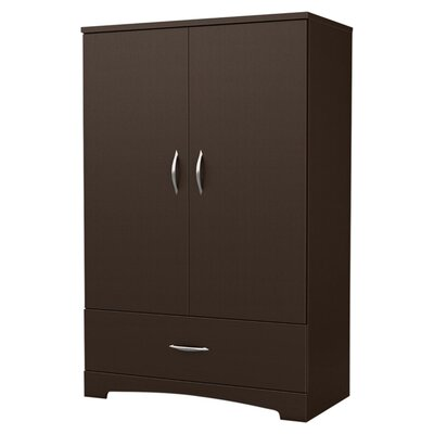 Step One Armoire Finish: Chocolate