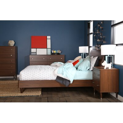 Olly Queen Platform Customizable Bedroom Set