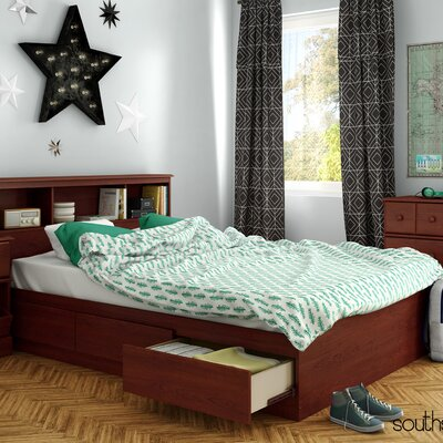 Little Treasures Mates Bed with Storage Size: Full