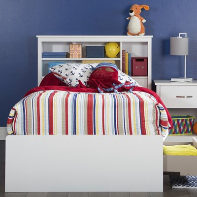 Fusion Twin Bed with Drawers Color: Pure White