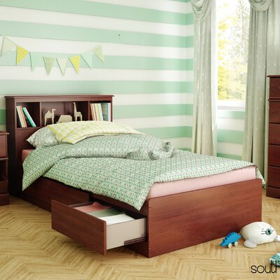 Little Treasures Mates Bed with Storage Size: Twin