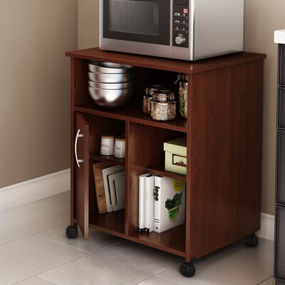 Fiesta Microwave Cart Finish: Royal Cherry