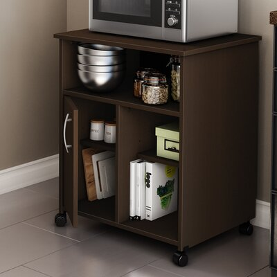 Fiesta Microwave Cart Base Finish: Chocolate