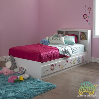 Joy Twin Mates Bed with Storage