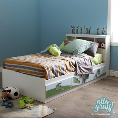 Andy Twin Mates Bed with Storage