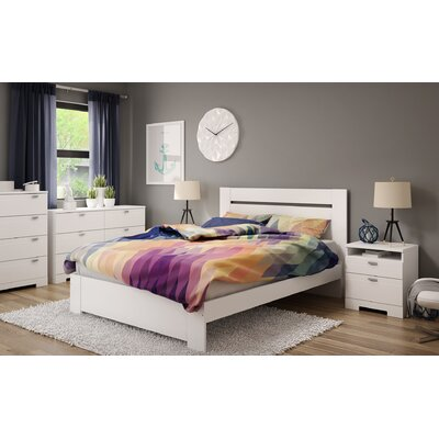 Reevo Queen Platform Configurable Bedroom Set