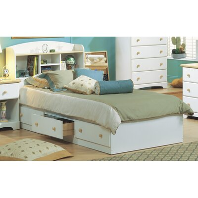 Newbury Twin Mates Bed with Storage