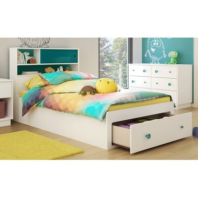 Little Monsters Twin Mates Bed with Storage