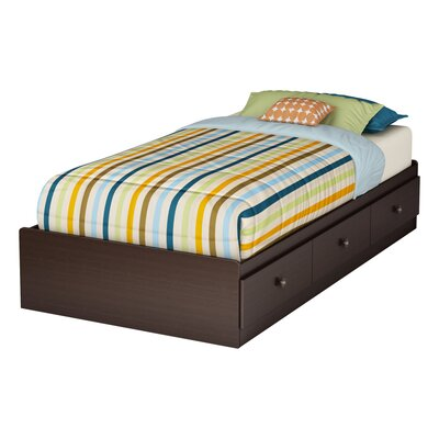 Zach Twin Mates Bed with Storage