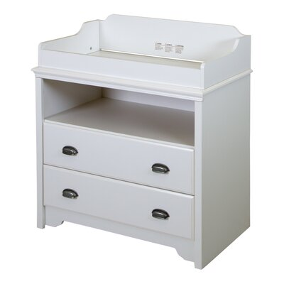 Fundy Tide Changing Table Color: Pure White 9023331