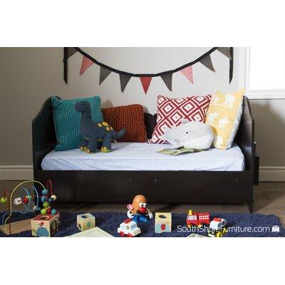Savannah Convertible Toddler Bed Color: Espresso