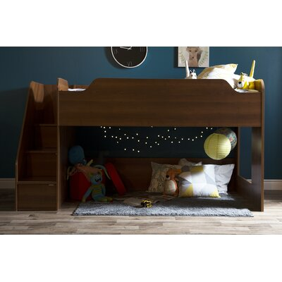 Mobby Twin Loft Bed Finish: Morgan Cherry