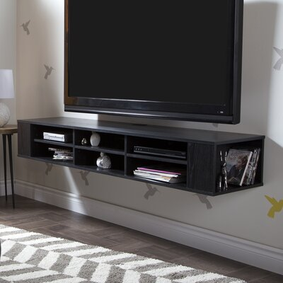 City Life 66.25 TV Stand Color: Black Oak