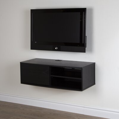 Agora 38 TV Stand Color: Black Oak