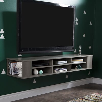 City Life 66.25 TV Stand Color: Gray Maple