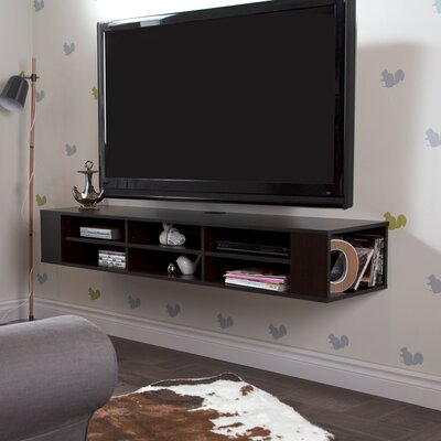 City Life 66.25 TV Stand Color: Chocolate