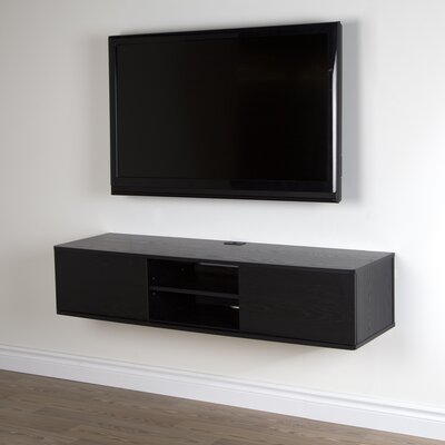 Agora 56 TV Stand Color: Black Oak