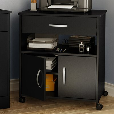 Fiesta Microwave Cart Base Finish: Pure Black