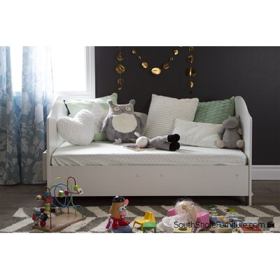 Savannah Convertible Toddler Bed Color: Pure White