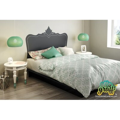 Black Step One Queen Platform Bed