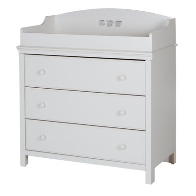 Cotton Candy Changing Table Color: Pure White 3250330
