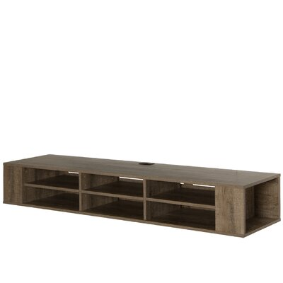 City Life 66.25 TV Stand Color: Weathered Oak
