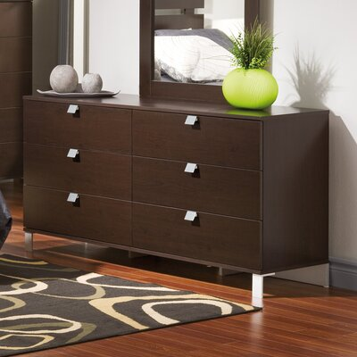 Cakao 6 Drawer Double Dresser