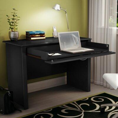 South Shore Work Id Computer Desk Finish: Pure Black